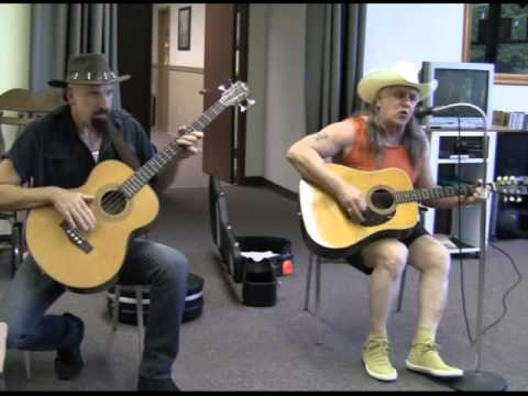 Tom and Michael Playing at Ms. Lily's Retirement Home in Palatka, Florida.  Video #5