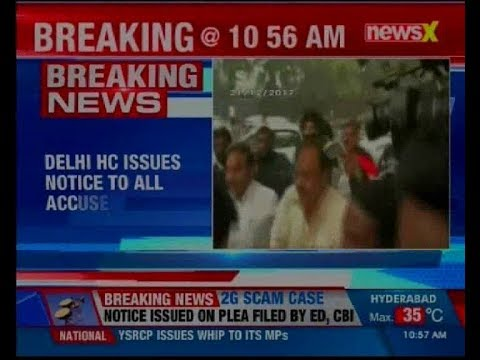 2G Spectrum case: Delhi HC issues notice to all accused including A Raja, Kanimozhi