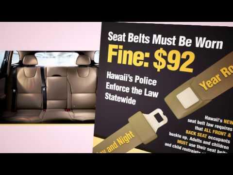 Click It Or Ticket New Seat Belt Law TV PSA 2 SHSP Hawaii