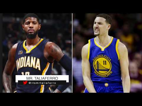 Paul George Trade To Golden State Warriors For Klay Thompson Almost Happened According To P.George