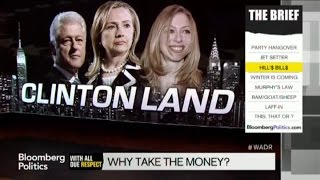 Why in God's Name Are the Clintons Taking Shady Money?