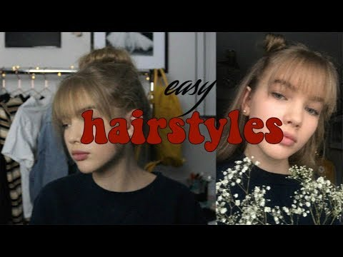 Extra Cute Hairstyles With Bangs