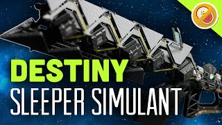 DESTINY Sleeper Simulant Fully Upgraded Exotic Fusion Rifle Review (The Taken King Exotic)