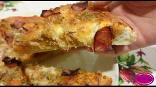 Masa de pizza Domino´s con Monsieur Cuisine