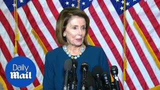 Nancy Pelosi on being re-elected as House Democratic leader - …