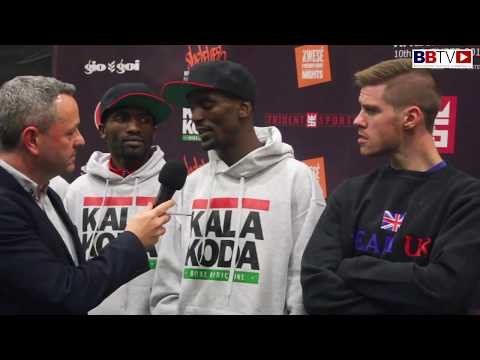 AFRICA Vs UK - WEIGH IN AND WORDS EXCHANGED BETWEEN TEAM CAPTAINS