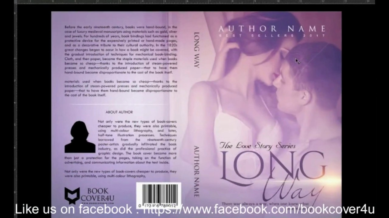 Design book covers online - How To Design Book Cover For Createspace
