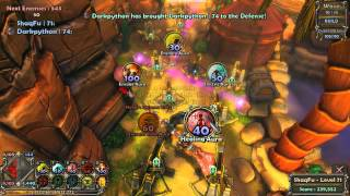 Dungeon Defenders Live Stream 04/03/12 - VOD Part #2
