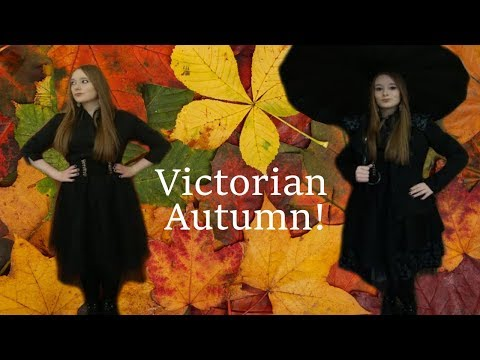 59de66b8155 Outfit of the Day  Victorian   Edwardian Autumn!