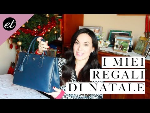 Regali Di Natale Video.I Miei Regali Di Natale Elenatee Youtube