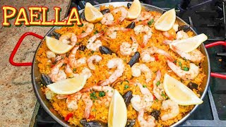 Spanish Seafood Paella Recipe |Paella Recipe