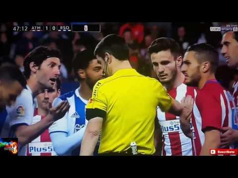 Atletico Madrid vs Real Sociedad 1-0 Fecha 30 04/04/2017