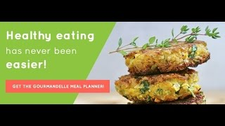Gourmandelle Meal Planner Dashboard Presentation