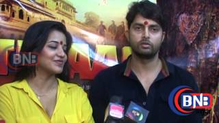 Muhurat Of Itihaas Interview Monalisa Vikrant Singh