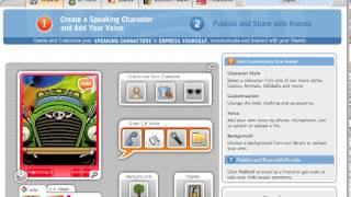Add Voki to Weebly website