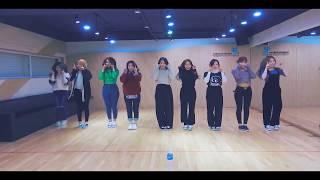 TWICE - Heart Shaker (Practice room ver.) [HD Dance Mirrored]