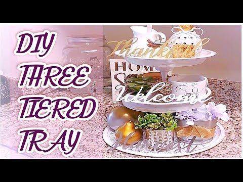 DIY Three Tiered Tray