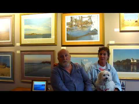 Vaughan and Ann Hawley Gallery Interview
