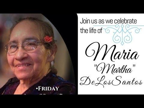 MARIA DE LOS SANTOS - Funeral Service | PWO | Phoenix World Outreach | PWOOfficial