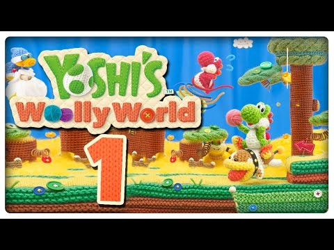 Let's Play YOSHI'S WOOLLY WORLD Part 1: Knuddel-Yoshis Abenteuer im Woll-Atoll