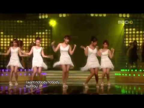 Wonder girls 'Nobody' disco version