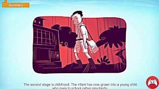 The Seven Ages   Summary and more   Summary and more   Animated with sound   CBSE English Class 9720