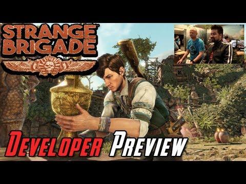 Strange Brigade Developer Preview - AngryJoe @E3 2017