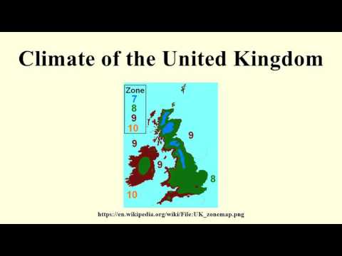 Climate of the United Kingdom