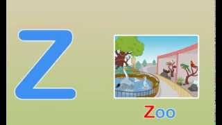 Toddler Words | Words Starting With Z