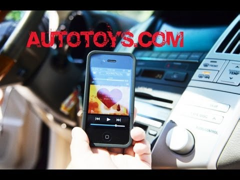 Lexus RX350 IPOD adapter, Aux Mp3 Android USB, by GROM and AutoToys.com (2003-2008)