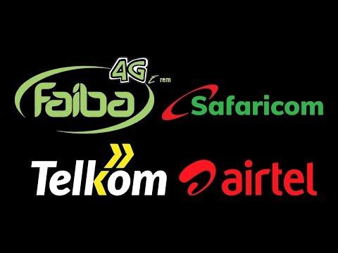Kenya Mobile Internet Service Provider Speed And Data Comparison