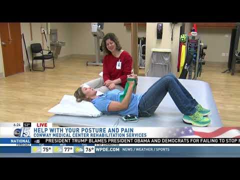 Amanda Live at Conway Medical Center Rehabilitation Services - Good Morning Carolina - WPDE ABC 15