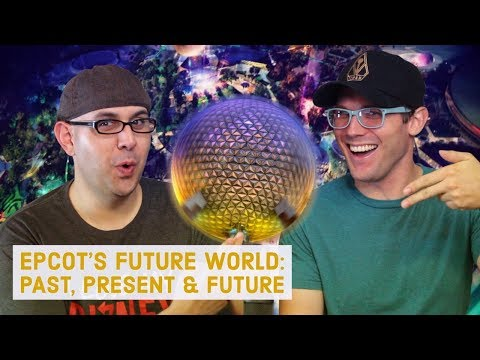 Disney Podcast - EPCOT'S FUTURE WORLD: PAST, PRESENT & FUTURE - Dizney Coast to Coast - Ep. 432