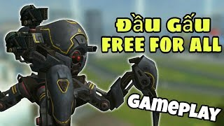 Khi Đầu Gấu FFA Ra Đường Ai Cũng Phải Sợ - Shotgun Invader Gameplay War Robots Việt Nam