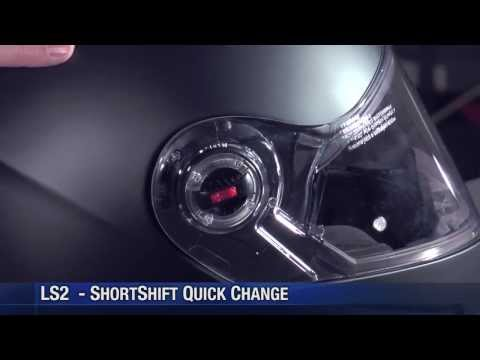 LS2 Helmets Visor Removal & Replacement How to