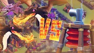 Como Atacar Aldeas Con Controlador Aereo - Tutorial Ataque Dragones - Air Sweeper Clash Of Clans