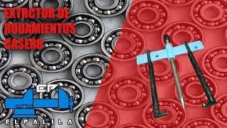 Extractor de rodamientos casero