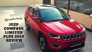 JEEP COMPASS LIMITED PLUS 2019 | FULL REVIEW AND DRONE SHOTS