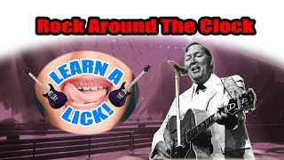 Learn A Lick - Rock Around The Clock (Solo)