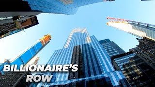 ⁴ᴷ⁶⁰ Walking NYC (Narrated) : 57th Street (Billionaire's Row) in its Entirety