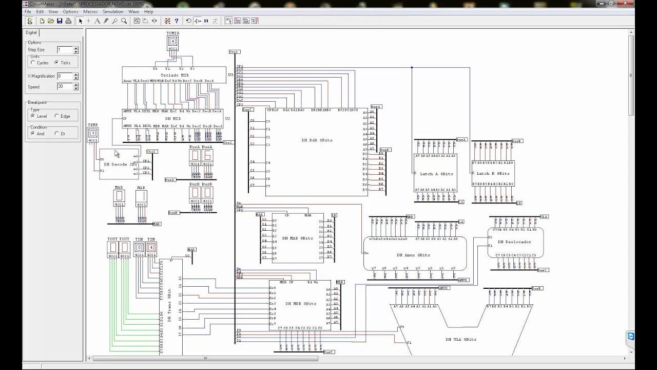 processador 8 bits circuit maker - m u00e9dia b u00e1sica  a b   2