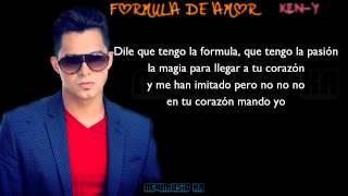 Formula De Amor - Ken-Y (Letra)