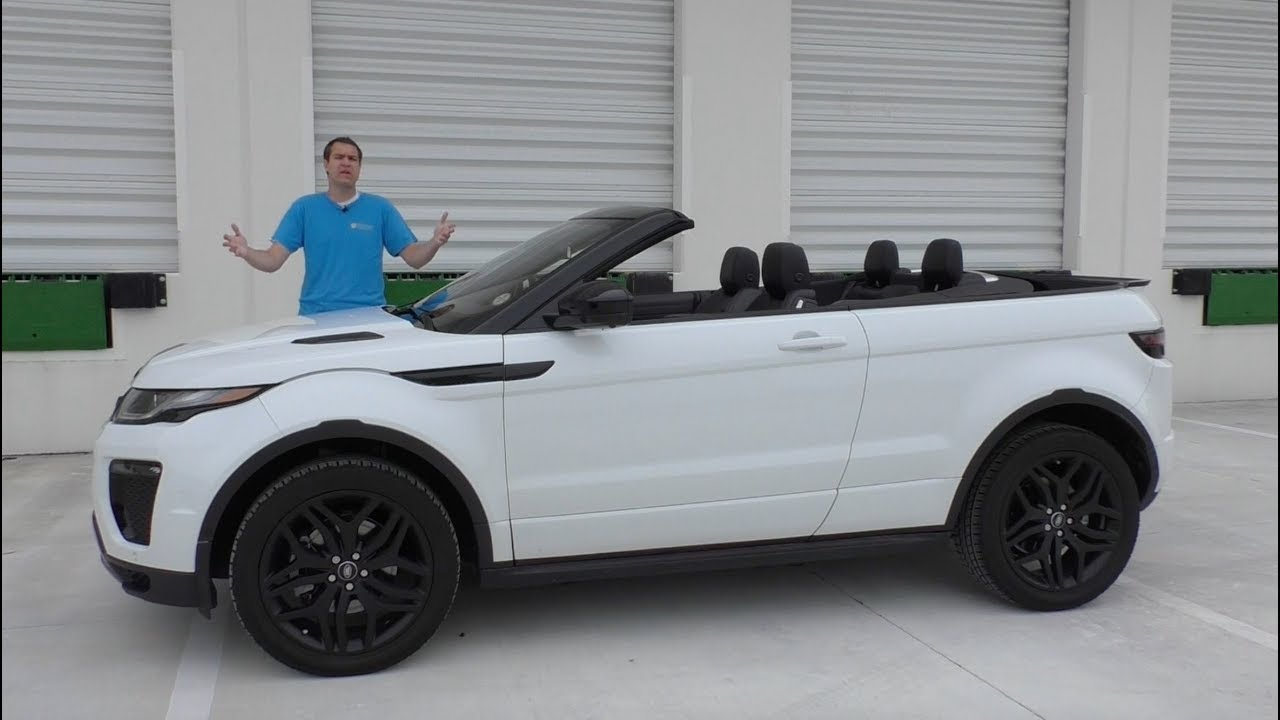 I Can't Believe The Range Rover Evoque Convertible Costs $70,000