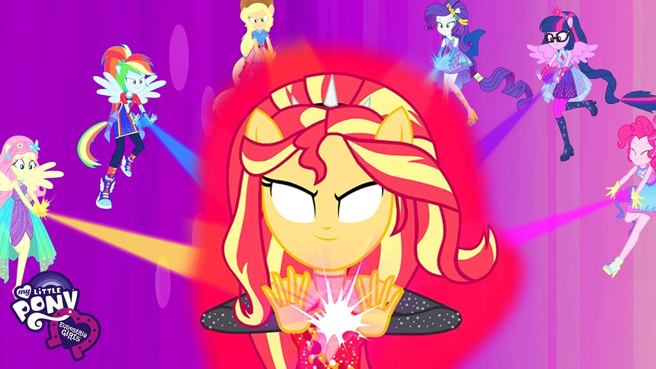 Download My Little Pony: Equestria Girls   Supporting Equestria-Man: Cheer you on   MLPEG Songs