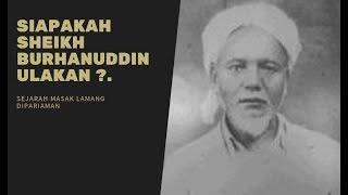 Download Kisah Sheikh Burhanuddin Ulakan