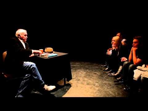 Jan Nowicki w Teatrze Ecce Homo (fragmenty) - Kielce 9 listopada 2012r.