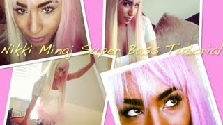 Nicki Minaj Super Bass Make up and outfit tutorial