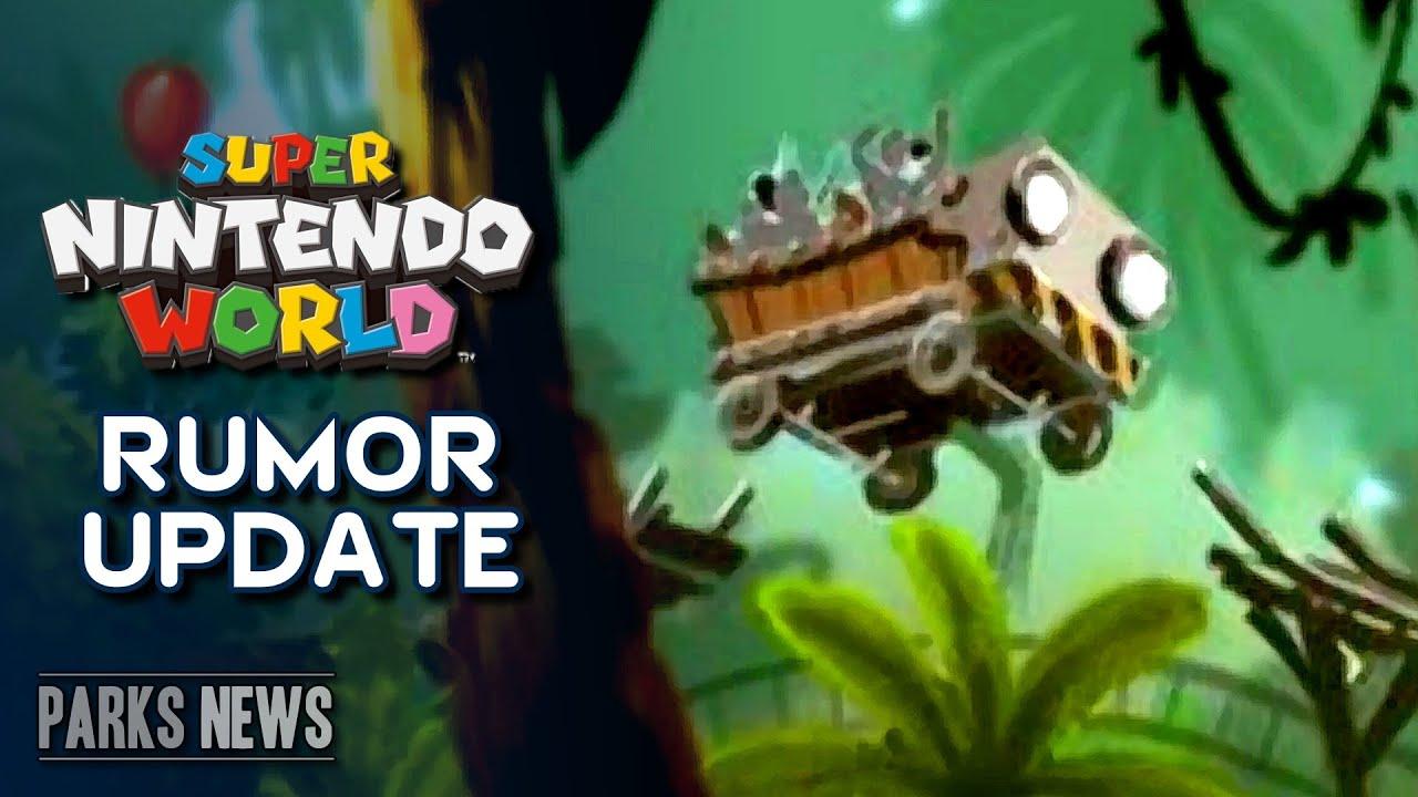 Donkey Kong Expansion for Super Nintendo World Update - Universal Japan & Orlando