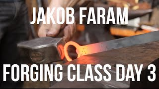 Learning to forge bottle openers with Jakob Faram: Day 3