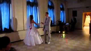 Свадебный медленный танец Ольги и Андрея.